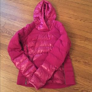 Lululemon pullover down jacket size 10